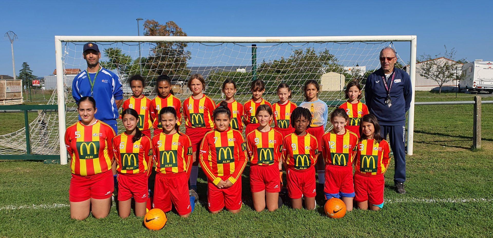 Équipe U11 U13 Féminine