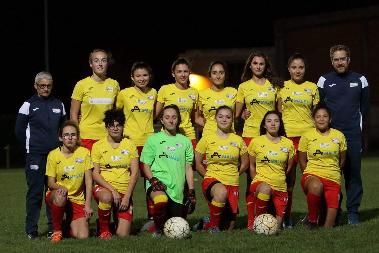 U18 - Équipe féminine R1 à 11
