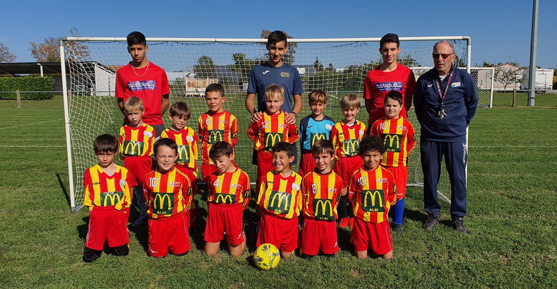 Équipe U8 mixte