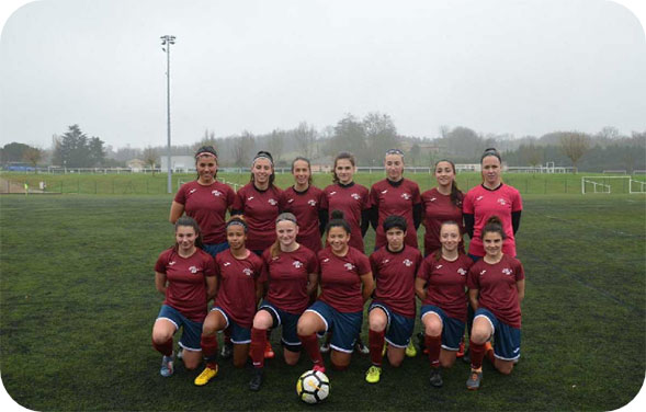Section sportive football féminin
