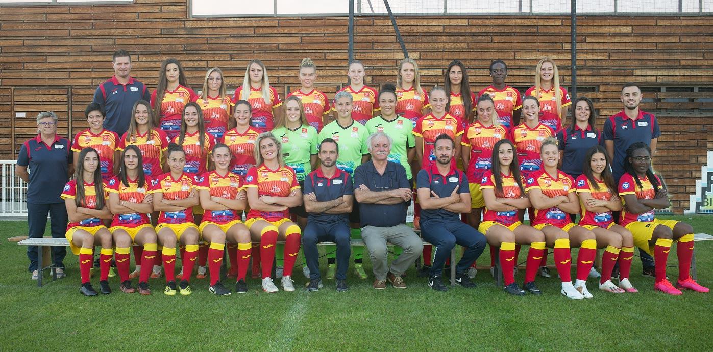 Senior - Équipe 1 féminine D2 - Groupe B