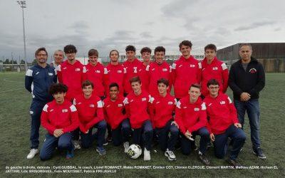 U16 : une entrée en championnat au goût amer