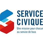 Logo Service civique